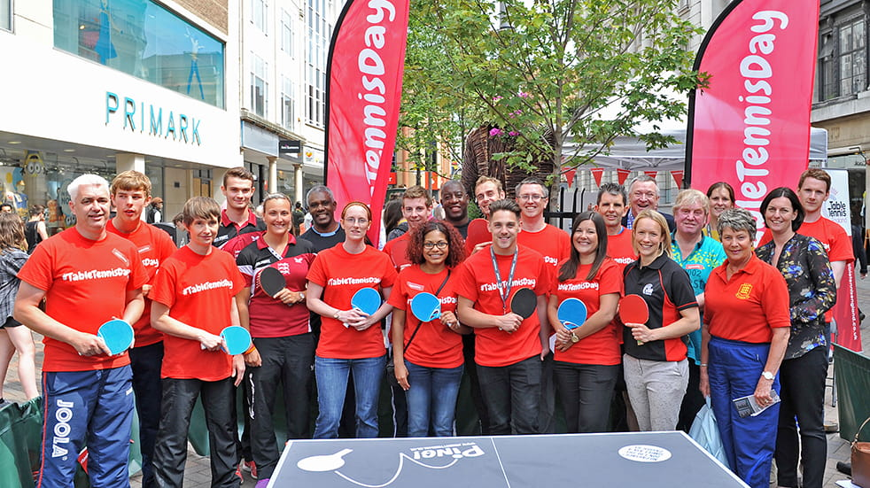 25 free things to do this month: Table Tennis Day
